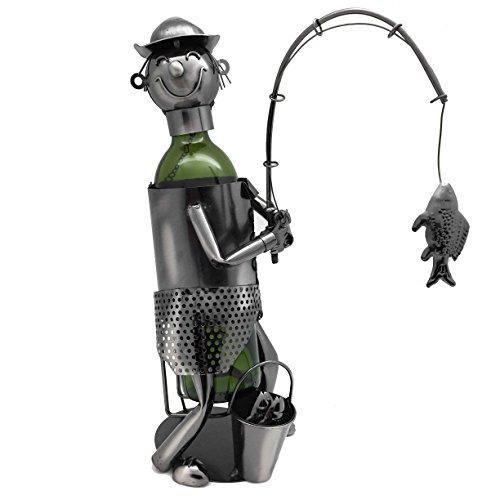 Fish Metal Wine Rack - 3