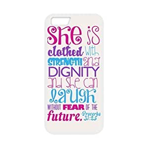 She Is Clothed With Strength And Dignity And She Can Laugh without Fear Of The Future White Stylish Inspirational Cover Case Cover For SamSung Galaxy Note 3 with high-quality Plastic