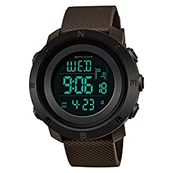 Couple Watch Outdoor Sports LED Watch Fashion Casual, Date/Week Display, Alarm Clock, Back Light, Stop Wrist Watch Travel Together Evangelia.YM (G, Women)