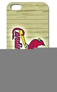 "Tomhousmick MLB Major League Baseball St. Louis Cardinals case cover for iPhone 6 plus 5.5 """