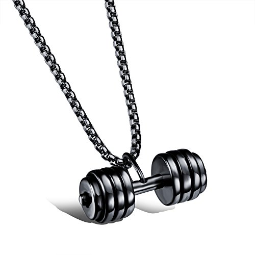 Lazada Dumbbell Set: Elove Fashion Jewelry Stainless Steel Body Building