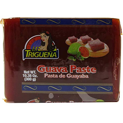 All Natural Guava Paste Goiabada Pasta De Guayaba Fruit Snacks Great Guava Tart Empanadas for Cheesecake Cakes Muffins 10.38 oz