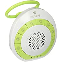 myBaby Soundspa On‐the‐Go, Plays 4 Soothing Sounds,...