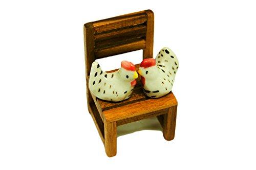 Review Blue Mango.Chicken Ceramic Decor