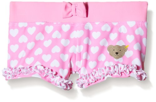 Steiff Collection Mädchen, Badeshorts, Bikini Panty, Rosa (prism Pink 2160), 68