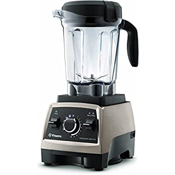 Vitamix Professional Series 750 Blender, Brushed Stainless with Cookbook