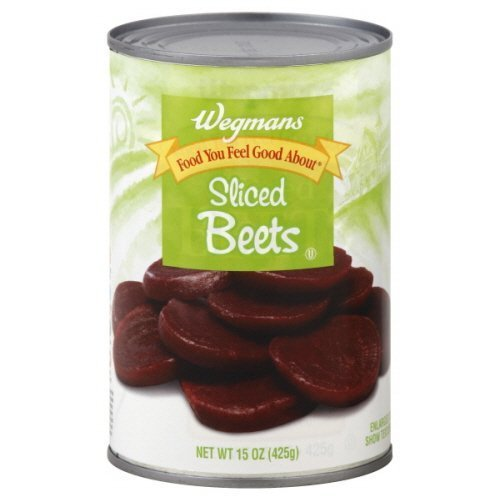 Wgmns Food You Feel Good About Beets, Sliced, 15 Oz. (Pack of 6) by Wegmans
