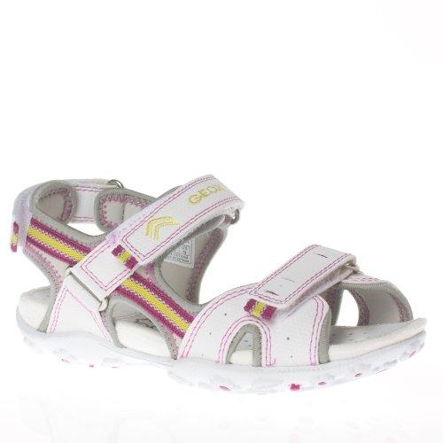 Geox J S Roxanne R J01d9r-c123 Enfant Chaussures Blanc