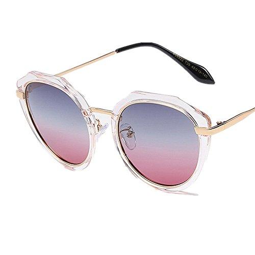 libre Gu de Rosado las verano agraciadas mujeres Protección al Peggy Color de lente Gafas aire irregulares para polarizada sol Rosado UV sol conducción playa gafas de vacaciones HFqEdwE