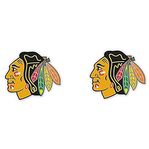 - Wincraft NHL Chicago Blackhawks 06283013 Earrings Jewelry Card