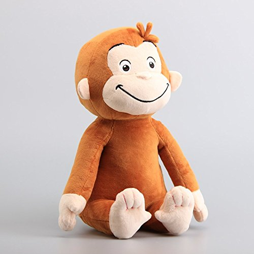 Curious George Plush 9.2 Inch / 23cm Monkey Doll Stuffed Animals Figure Soft Anime Collection Toy (Figure Plush Doll)