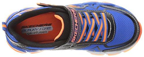 Negro 3 Todos Skechers Zapatos 2 Días Azul Los 073 negro 97411 Naranja 97411 naranja Niño Skechair M Niños Azul Uk Los tzzwxqr6ng