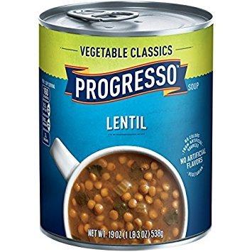 Progresso Lentil Soup 19 oz. (Pack of 4)