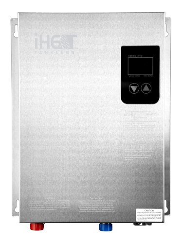 Iheat Electric Tankless Water Heater Model AHS16-D