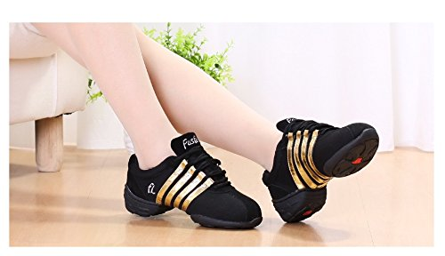 Jazz Women Ballroom Shoes Shoes Professional for Shoes Gold Lightweight Yao Dance Dance wF0ZxTq