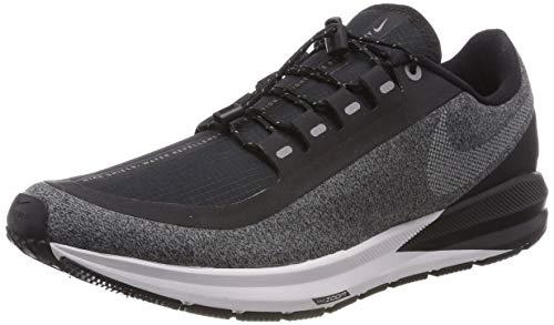 Nike Air Zoom Structure 22 Shield Men's Running Shoe Black/White-Cool Grey-VAST Grey 8.5