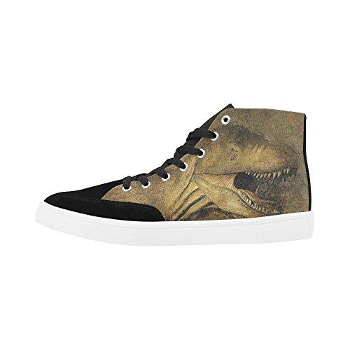 D-story Dinosauro Personalizzato Scarpe Alte Per Scarpe Da Uomo Scarpe Sneaker Di Moda