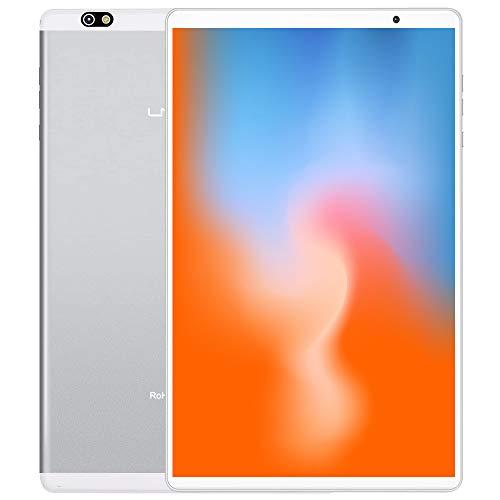 LNMBBS P40-EEA Tablet 10 Pulgadas , Android 10.0, Octa-Core, Desbloqueo Facial, 1920*1200 IPS, 64GB ROM y 4GB de RAM, 13MP y 5MP Cámara, Wi-Fi + LTE, GPS, Bluetooth 5.0, Silver a buen precio