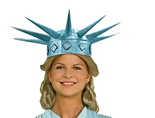 New York Statue of Miss Liberty Tiara Crown Patriotic Women Costume Accessory (Statue Of Liberty Tiara)