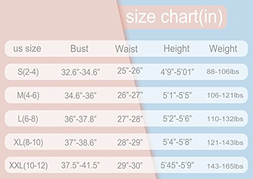 9f2f3bef47373 Belovecol One Piece Bathing Suit for Teen Girls Chest Hair Graphic High  Legs Swimsuit High Cut