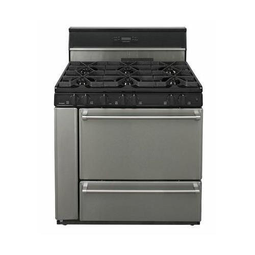 Gas Oven Btu (Premier Pro Series P36S148BP 36
