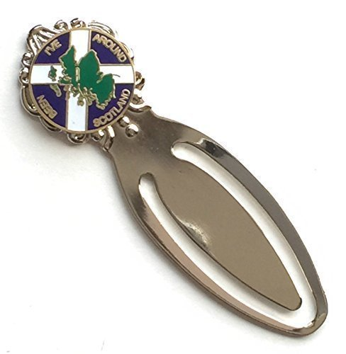 I've Stato Intorno Scozia Smalto Con stemma Segnalibro & Sacchetto Regalo (T1128) Emblems-Gifts
