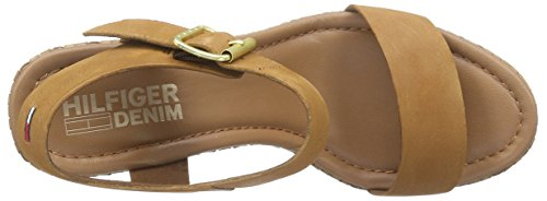 Tommy Jeans L1385ively 28a - Sandalias Mujer Marrón - Braun (SUMMER COGNAC 929)