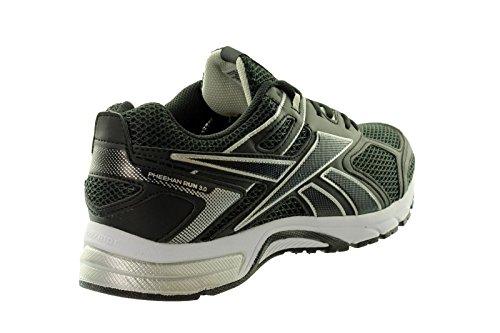 Reebok - Reebok Pheehan Run 3.0 Zapatos Running Hombre Negro V67813 - Negro, 41