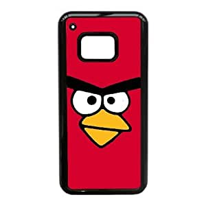Angry Birds_004 TPU Case Cover for HTC One M9 Cell Phone Case Black