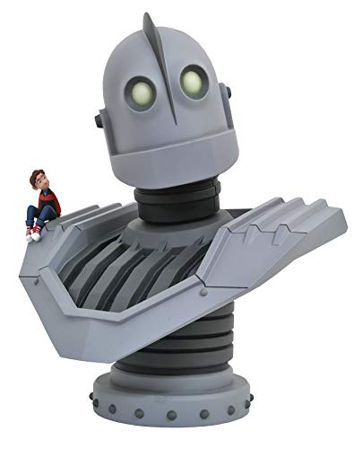 DIAMOND SELECT TOYS Legends in 3-Dimensions: The Iron Giant Movie Resin Bust Statue ()