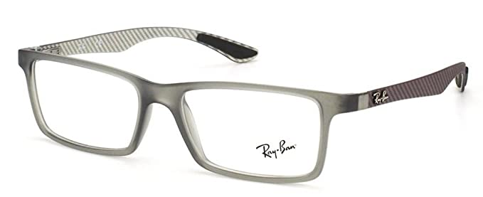 Ray Ban Montura de Gafas RX 8901 5244 Gris 55MM: Amazon.es ...
