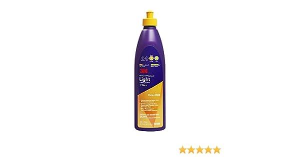 3M Perfect-It Gelcoat Light Cutting Polish + Wax: Amazon.es ...