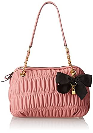 Jessica Simpson Ursula Evening Bag,Rosette,One Size
