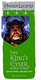 NV Hidden Legend The King\'s Cyser Apple Mead 750 mL