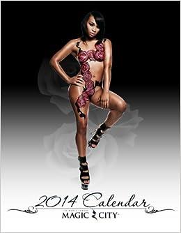 """... for the """"Hottest Beautiful Women's Calendar of 2014"""" [Wall Calendar"""