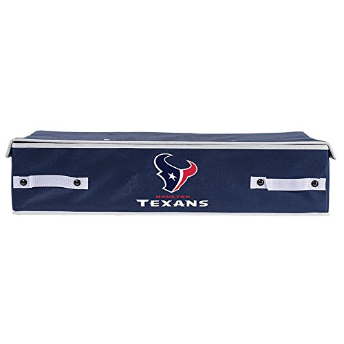 Houston Texans Sports Bed - Franklin Sports NFL Houston Texans Under The Bed Storage Bins - Large