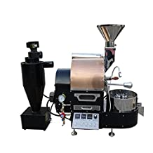 MegaLane Commercial 1Kg Coffee Bean Roaster Roasting Machine With Dust Collector, USB Port