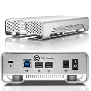 G-Technology G-DRIVE  USB 3.0 eSATA and FireWire 2TB 7200RPM