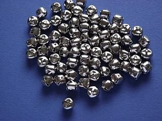 72 Silver 10mm Jingle Bells for Crafts | Craft Bells by Crafty Capers