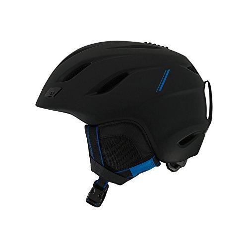 Giro Nine Asian Fit Snow Helmet Matte Black/Blue Sport Tech S (52-55.5cm)