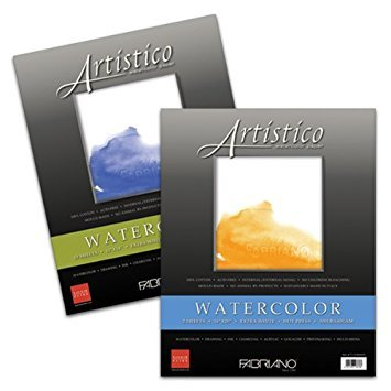 (Fabriano Artistico 300 Pound Cold Press 4 Sheets 11x14