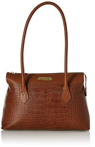 Isle Locada by Hidesign Spring-Summer 19 Women's Handbag (MET Grey) (N 1)