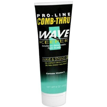 Pro-Line Comb-Thru Wave Keeper Gel 8 oz (Pack of 4)