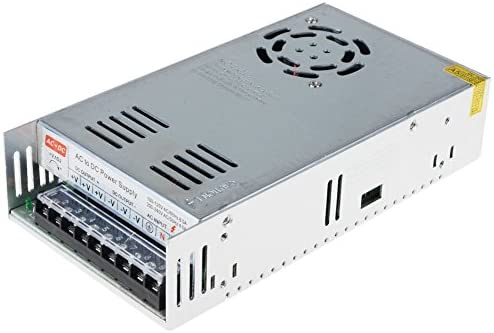 kakayaya 12V 30A Fuente de alimentación conmutada DC 30A 360W Universal Conmutación Adaptador Transformador Interruptor Convertidor de Alimentación ...