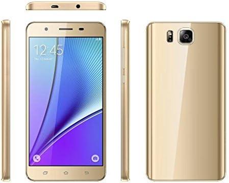 Teeno 3 G Teléfono Móvil en oro smartphones 5.5 Pulgada (Unlocked ...