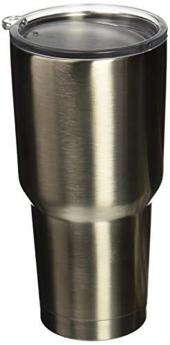 Eskimo Coolers Stainless Steel Double Wall Vacuum Insulated Tumbler with Lid, 30 oz
