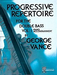 Progressive Repertoire for the Double Bass-Vol (Progressive Repertoire Double Bass)