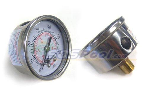 Waterway Crystal Water Pressure Gauge 830-4000SS