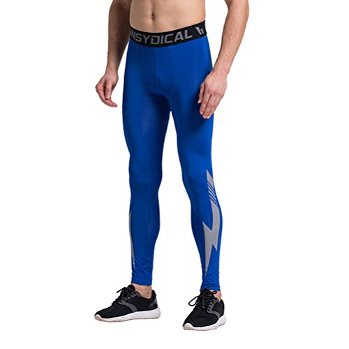 Men's Pro Compression Baselayer Running Tights Leggings Sport Fitness Elastic Active Pants