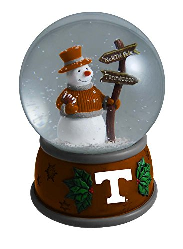 The Memory Company NCAA University of Tennessee Knoxville Christmas Snow Globe, One Size, Multicolor